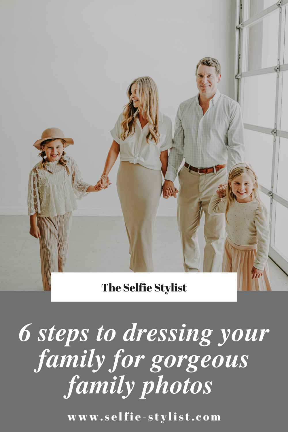 6 steps to dressing your family for gorgeous family photos